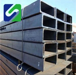 Metal Building steel u channel / parallel flange channel steel / weight of steel channel sections
