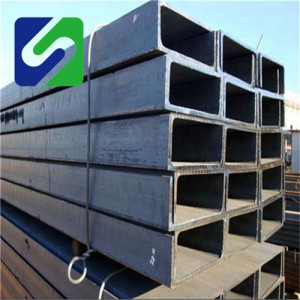 Manufacture hot rolled mild structure steel u channel