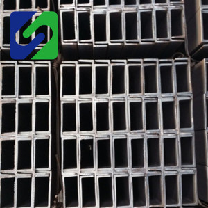 100x50 125x65 150x75 hot rolled 0.6-12mm thickness steel u channel