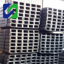 EN Standard Hot Rolled Alloy U Channel S355J2+N