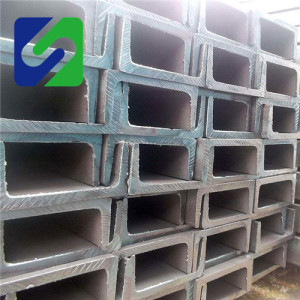 steel u channel price list/Construction material sizes in China/c channel for construction