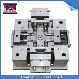 Longxiang nylon plastic cable tie injection mould for auto automotive car manufactory