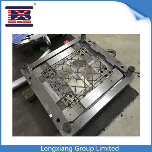 Longxiang custom plastic pallet moud hot selling interlocking light pallet with patent
