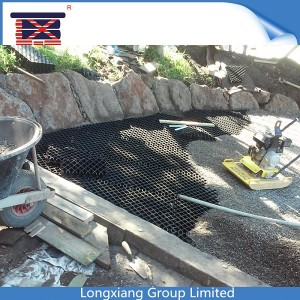 Longxiang 123 plastic turf reinforcing grids