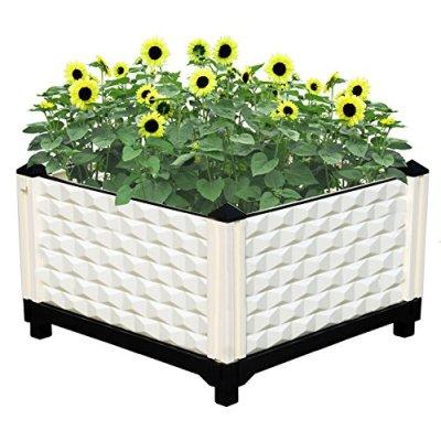 Home Garden Plant Growing Box Planter Garden Pots Box