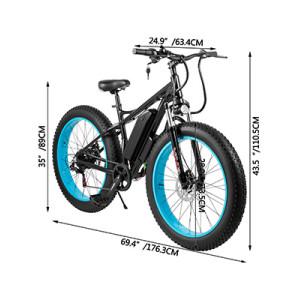 China products/suppliers. 48V 500W Brushless Rear Motor Mountain Electric Beach Bike Fat Tyre E-Bike
