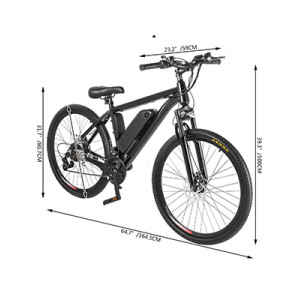 250w 350w 500w  750w 1000w city e-bike/ebike/electric mountain bicycle with LCD display and front suspension fork