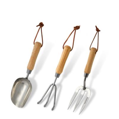 Garden Tool Set stainless carbon steel digging gardening tool set
