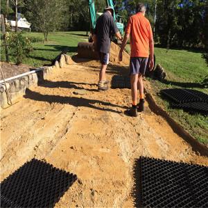 Plastic Parking Grids Factory gravel plastic grid Muddy Paddock Solutions drain grid paddock Anti UV Reinforced