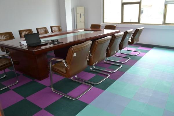 piso de plástico suspendido, cubierta de suelo interior removible para deportes