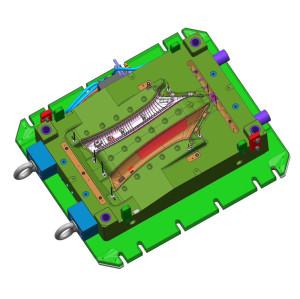 CNC personalizado mecanizado repuestos de automóviles piezas de repuesto de la impresora 3d piezas de plástico molde de soporte de la lámpara