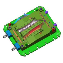 Cnc-kundengebundener bearbeitender Selbstersatzteilautoersatzteil 3d Drucker zerteilt Plastiklampenbügelformteil
