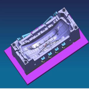 CNC que trabaja a máquina los recambios autos del coche que trabajan a máquina moldes