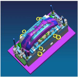 Recambios moldeados inyección plástica del coche piezas de repuesto