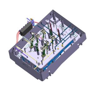 fábrica del molde de los recambios del coche para el fabricante delantero del moldeo a presión de la rejilla auto
