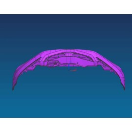 Автоматические передние бамперные пресс-формы для автомобильных бамперов Пластиковые инструменты для литья под давлением