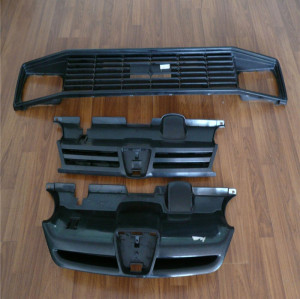 Los moldes de aire acondicionado automotrices repuestos de automóviles de plástico panel de instrumentos parte molde de Alta Calidad Auto Dash