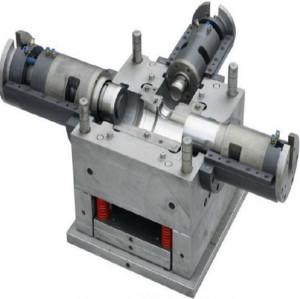 moldeo por inyección plástico del molde del codo del acoplamiento del tubo del pvc del molde de inyección plástico