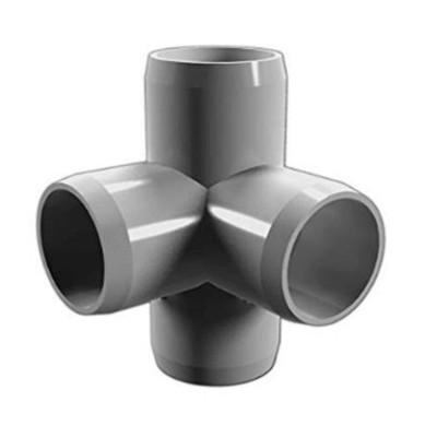 raccord en plastique de couplage / coude / té / raccord de moule de montage de tuyau croisé
