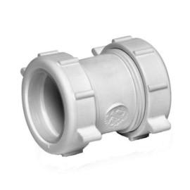 pvc диаметр 20 мм 4 полости наружная резьбовая шестигранная переходная муфта соединительная труба