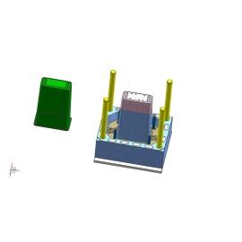 Barriles de Plasitc / Tambores / Cubo de plástico / Macetero / Molde de macetas