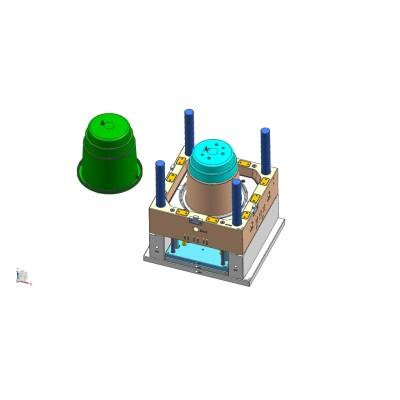 Molde plástico do desperdício / molde do escaninho, escaninho / recipiente de recicl