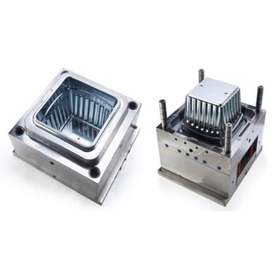 Moldeo por inyección plástica superior superior del moldeo por inyección del molde del envase del moldeo por inyección del molde