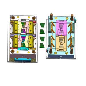 Moldeo por inyección de plástico personalizado corredor caliente