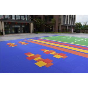piso de deportes al aire libre que enclavija de alta calidad de los pp para la cancha de voleibol de basketabll