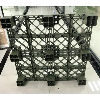 paletes plásticas resistentes para sistemas do armazém ou do racking