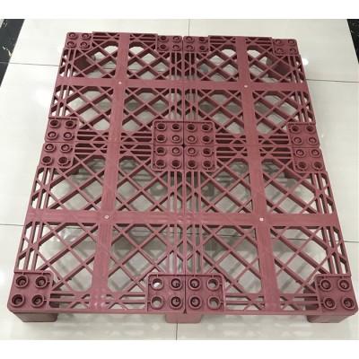 palete de plástico antiderrapante 1200 x 1200
