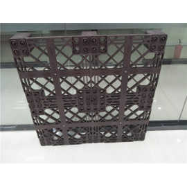 customized heavy duty plastic pallet for warehouse use