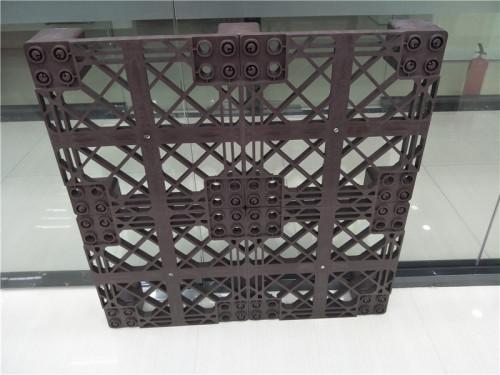 palet plástico resistente personalizado para uso en almacén