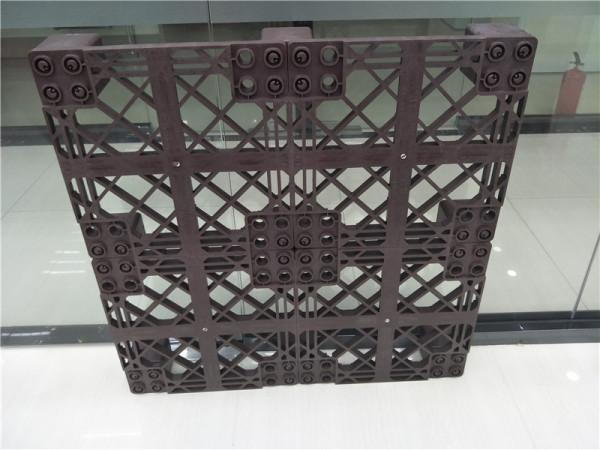 индивидуальный пластиковый поддон для складских помещений