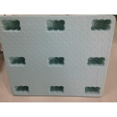 Carga Pallet Blowing PE Pallet Plataforma de carga de carga Plataforma elevadora de plástico Plataforma de carga Pallet a prueba de humedad Custom Plastic Pallet
