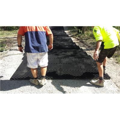 As grades de pavimentação plásticas de 1000x1000x40mm para o acesso do motor de fogo usaram amostras grátis
