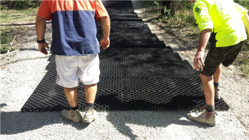 Las rejillas de pavimentación plásticas de 1000x1000x40mm para el acceso de bomberos utilizaron muestras gratuitas