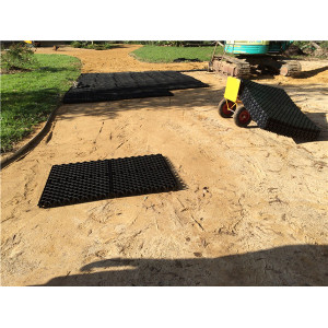 PP over 1000tons loading plastic grids plastic grass paver in China