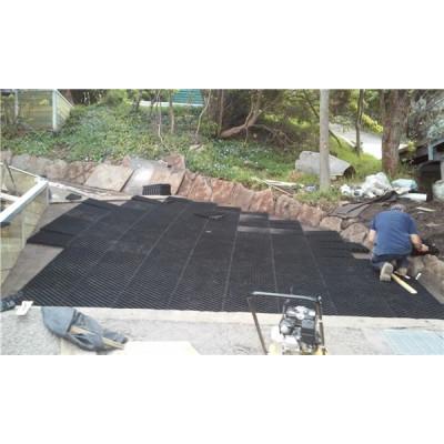 fabricación de geomallas de rejillas de pavimentación de plástico de alta calidad
