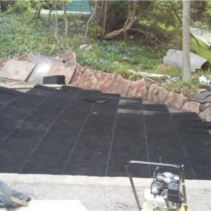 Rejillas plásticas de protección de suelo para césped / campo de golf / pavimentación