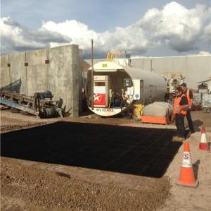 Rejilla plástica reforzada ULTRAVIOLETA para el campo de aviación / el estacionamiento del coche / la explotación minera