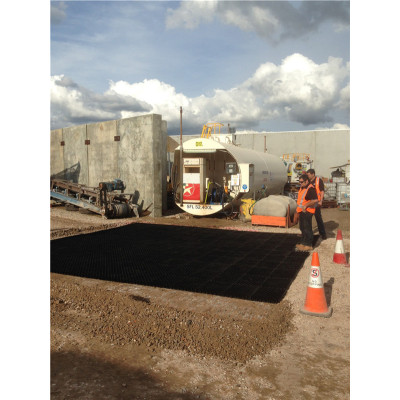 Anti grade plástica reforçada UV para o estacionamento do aeródromo / carro / mineração