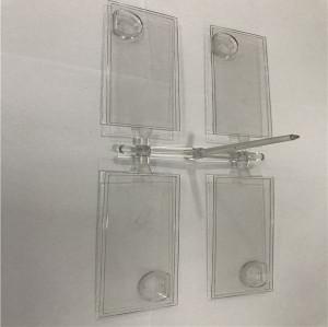 Moulage par injection plastique pour pièces en acrylique PC