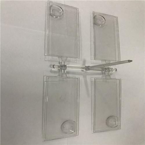 Moldeo por inyección de plástico para piezas acrílicas para PC