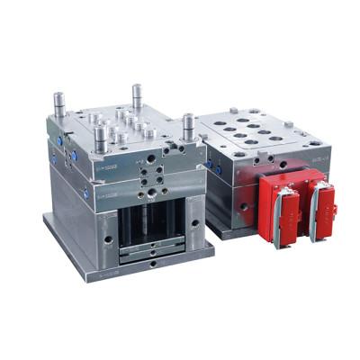 moldes superiores proveedor EDM CAD dibujo de 2 placas molde 4 deslizadores molde de inyección