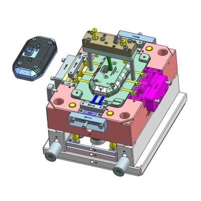 bom molde plástico das válvulas de ar e moldes personalizados da alta qualidade dos defletores de água em China