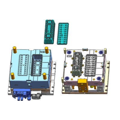 China dois disparos molde moldes de plástico multi-cavidades H13 moldes