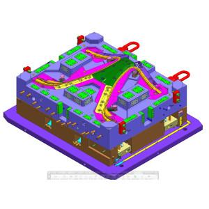 Die Herstellung von Werkzeugen aus den USA kann mit allen Arten von Kunststoffteilen in verschiedenen Materialien kombiniert werden