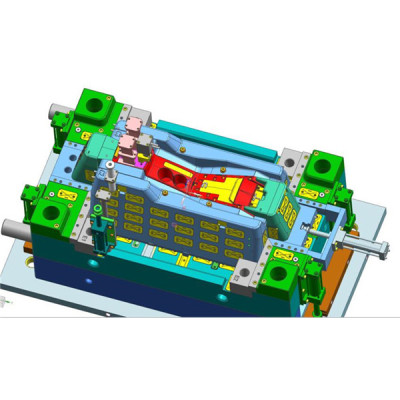2K e criações da modelagem por injecção 3D para o caso plástico moldado e a caixa de passagem