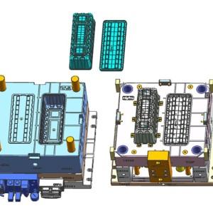 Чертежи CAD пластиковых форм пресс-формы для литья под давлением
